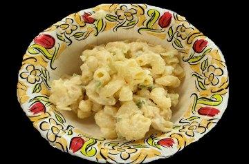 Macaroni and Cheese Pea Salad