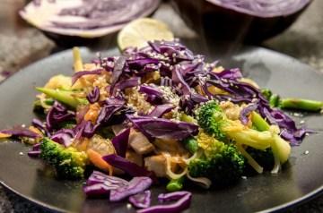 Erica's Broccoli and Chicken Stir-fry