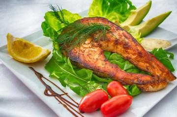 Lemon BBQ Grilled Salmon