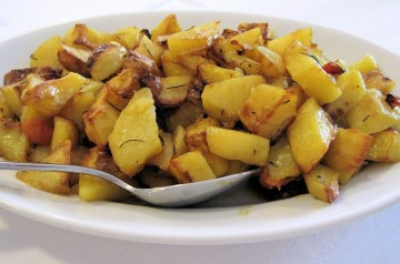 Baked Herbed  Potatoes