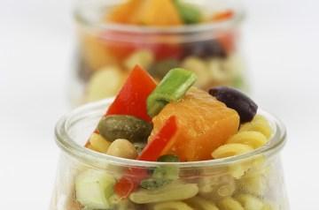 Pasta Salad (No Italian Dressing)