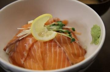 Sweet-spicy Glazed Salmon