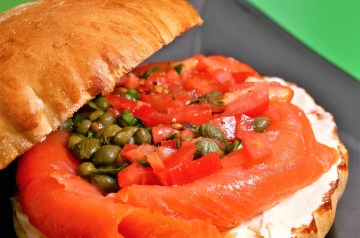 Broiled Tomato Cheese Sandwich