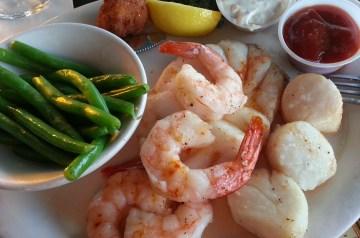 Portuguese Shrimp and Scallops