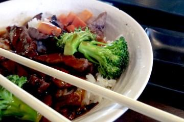 Teriyaki Beef Wraps