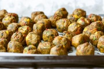 Tofu Veggie Balls