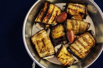 Grilled Eggplant (Aubergine) Parmesan