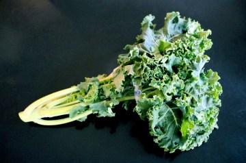 Kale (Winter Greens) With Garlic