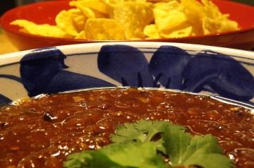 Raisin-Orange Salsa