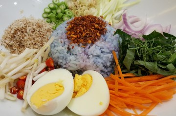 German Hot Rice Salad