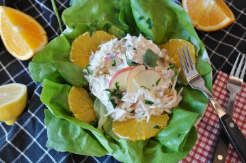 Diabetic Friendly Waldorf Salad