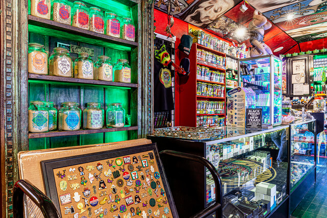 Inside Ashes Smoke Shop 1