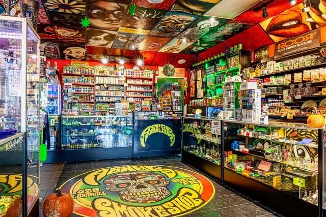 inside Ashes Smoke Shop 2