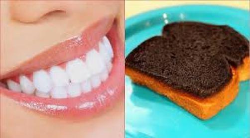 Cách làm răng đẹp bằng vỏ bánh mì cháy