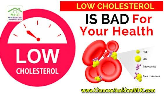 cholesterol thap cholesterol low mo trong mau thap