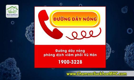 hotline duong day nong thong tin virus corona ncov bo y te