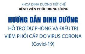 Hướng dẫn dinh dưỡng hỗ trợ dự phòng và điều trị COVID-19  Trung tâm chăm sóc sức khỏe tại nhà Medi Health Care huong dan dinh duong phong va dieu tri covid19 1
