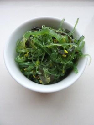 cuisiner les algues sous forme de salade