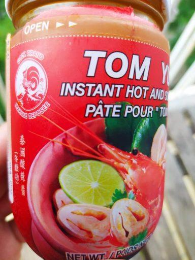 pâte Tom Yam