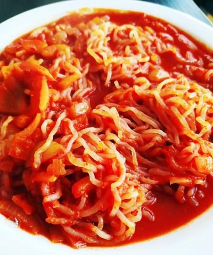 shiritaki aux tomates