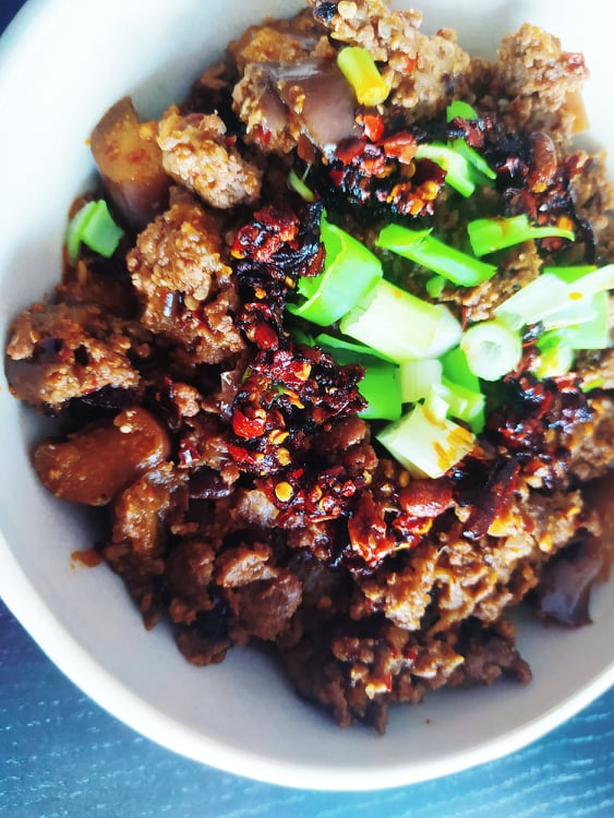 aubergines chinoises sichuan