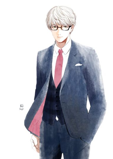 スーツメガネ