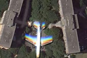【動画】グーグルマップに映った不可解な画像