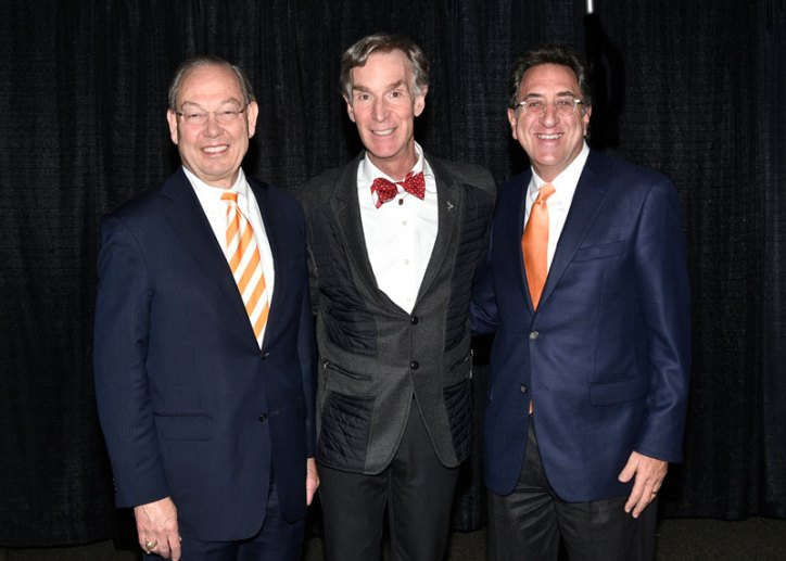 Chancellor Cheek, Bill Nye, Michael Mossman