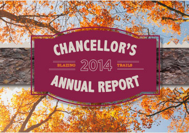 2014 Chancellor's Annual Report graphic
