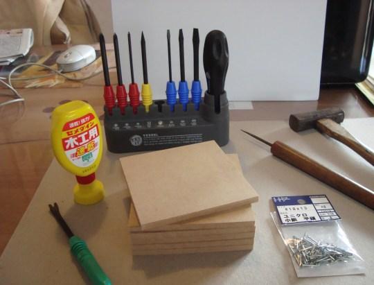 DIY、初心者、道具