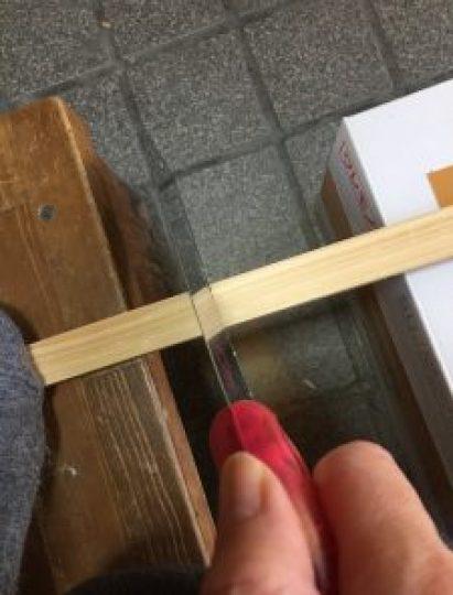 DIY,のこぎりの使い方