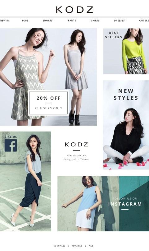 KODZ Landing Page