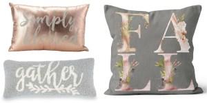 Gorgeous fall pillows