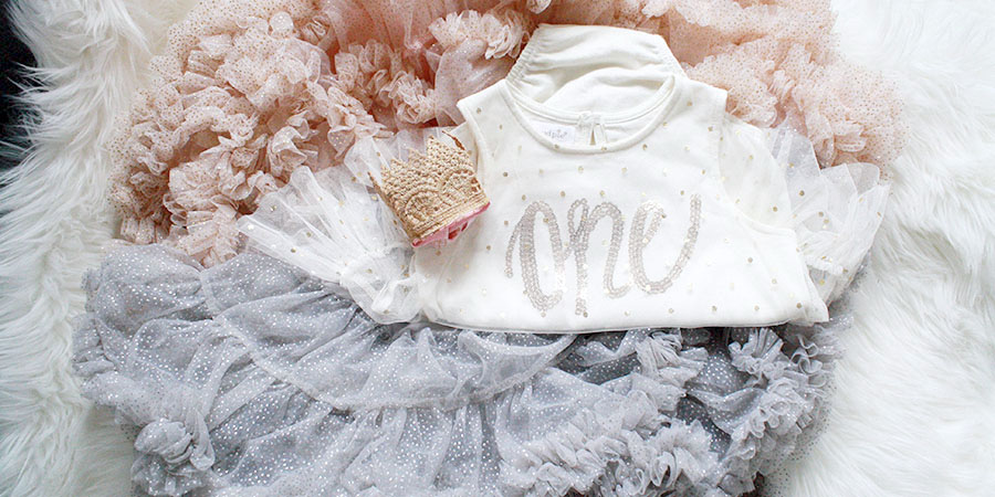 Easy first birthday Ideas - First birthday baby girl outfit