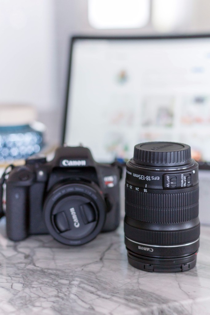 My 5 New Year's goals for 2018: Practicing photograph - Canon t6i and 50mm lens