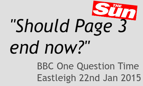 Review: BBC One Question Time Eastleigh 2015