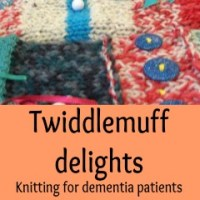 Join Eastleigh Knitters Making Twiddlemuffs for Dementia Patients