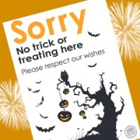 Halloween - Want to Avoid Trick or Treat?