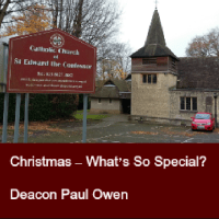 Christmas – What's So Special?