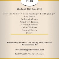 Hursley Park Book Fair - 23rd and 24th June 2018