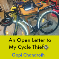 An Open Letter to My Cycle Thief