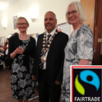 Eastleigh Mayor Attended the Fairtrade Fashion Show in Chandler's Ford - 17 May 2019