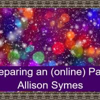 Preparing An (Online) Party