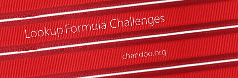 LOOKUP Formula Challenges - Solve these lookup questions & sharpen your skills