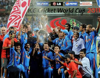 Congratulations to Team India for winning Cricket World Cup 2011