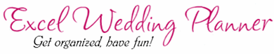 Excel Wedding Planner - Spreadsheet Solution for Planning your Wedding