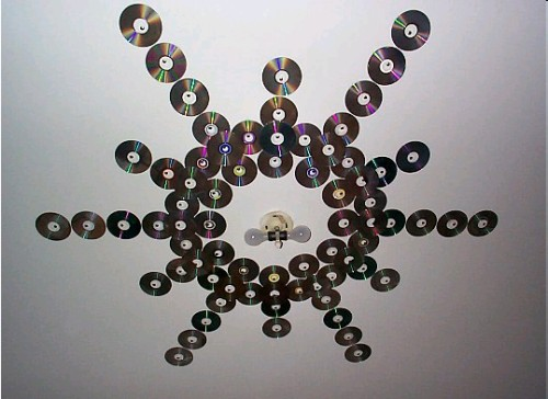 cd-dvd-ceiling-decor