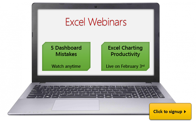 PASS BA 2015 - Excel webinars from Chandoo