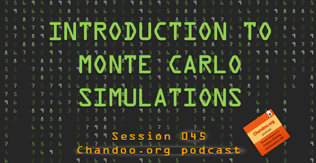 Introduction to Monte Carlo simulations in Excel - Chandoo.org podcast - session 045