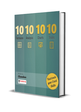 10-10-10-10 book - Fast Track your Excel Skills - by Chandoo
